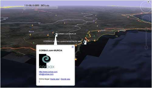 Google Maps: GoogleEarthCorbax