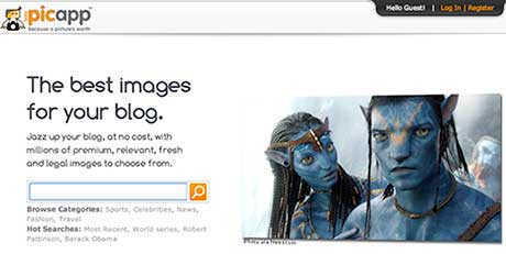 PicApp imágenes