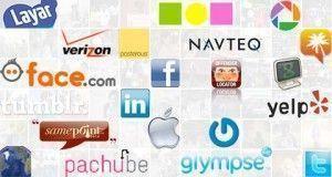 colección de iconos de redes sociales y aplicaciones 2.0