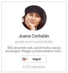 Juana Corbalán, diseñadora web y socia en Corbax