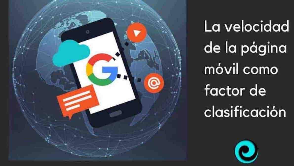 La velocidad de la página web móvil como factor clasificación