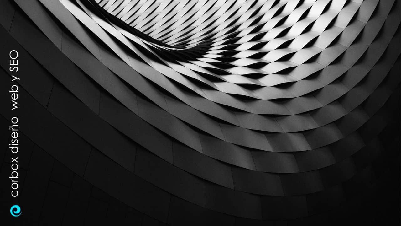 Imagen de espiral arquitectónica