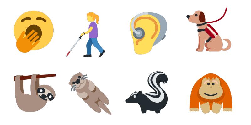 Nuevos Iconos emoji