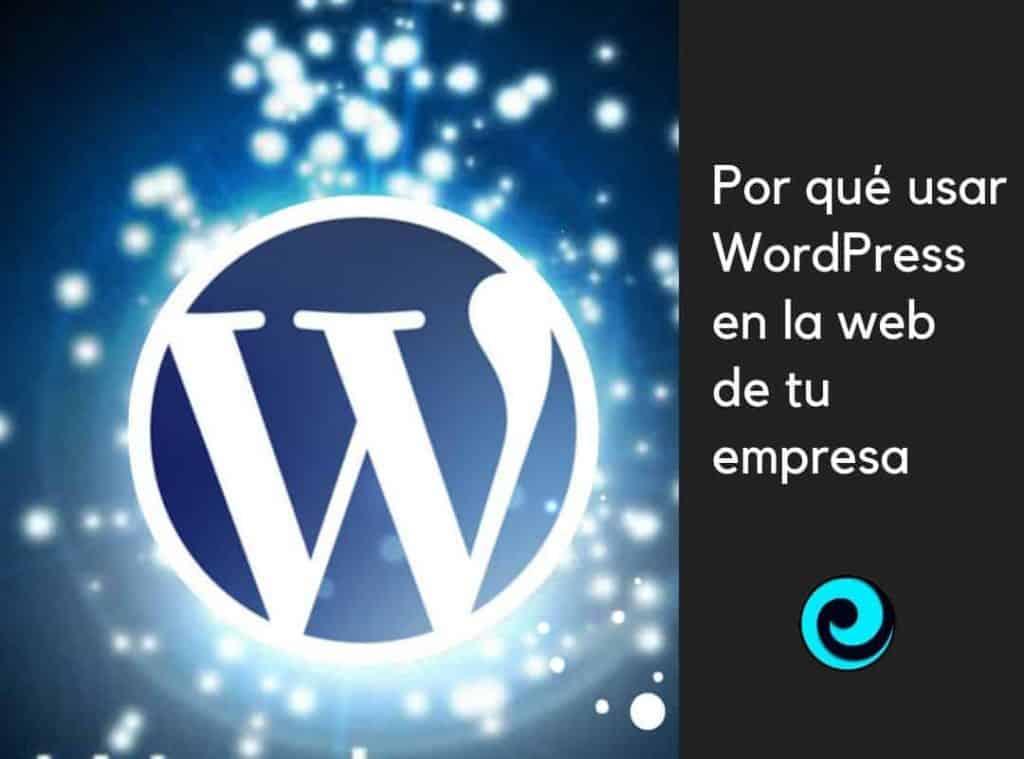 Imagen destacada post sobre WordPress