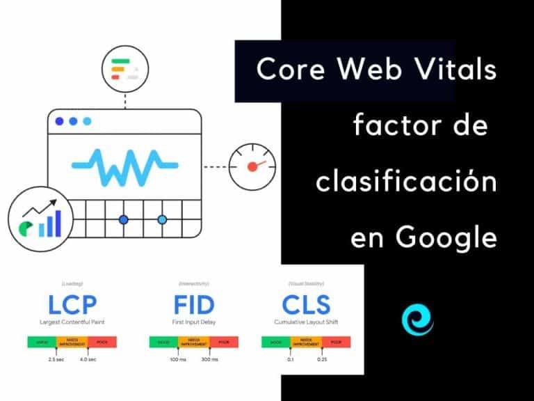 Core Web Vitals como factor de posicionamiento en Google
