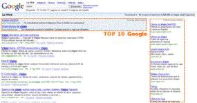 SEM TOP 10 en Google