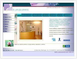 Diseño web Murcia para centro de medicina estetica y cirugia