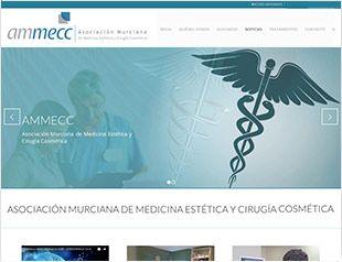 Diseño web + SEO para Asociación Murciana de Medicina Estética