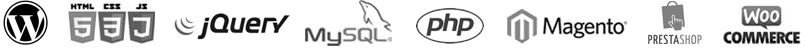 Diseño y Desarrollo Web patner logos