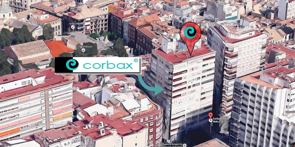 Oficinas Corbax SEO y Diseño web en Murcia