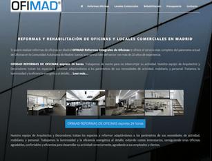 OFIMAD reforma de oficinas en Madrid