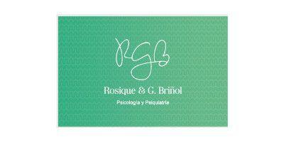 Logo de Rosique y G.Briñol - Psicología y Psiquiatría