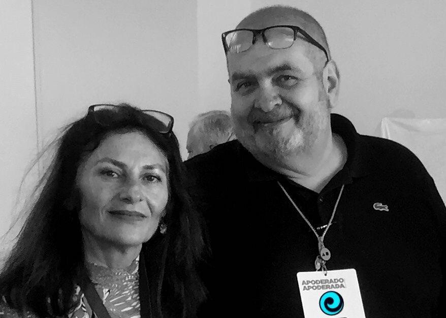 Juana Corbalán y Huberto Cánovas. El Corbax´s Team