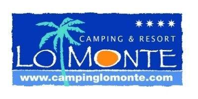 Logo Camping Lo Monte, preparado para personas de movilidad reducida