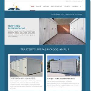 AMPLIA Trasteros prefabricados y garajes metálicos, idóneos para azoteas.