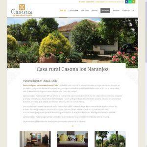 Quinta para turismo rural en Chile: Casona Los Naranjos.