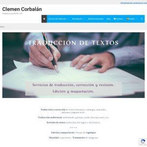 Clemen Corbalán Traductora Profesional