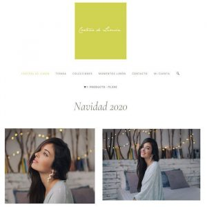 Página web de Corteza de Limón joyería artesanaPágina web de Corteza de Limón joyería artesana
