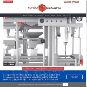 KONEXAPACK Especialistas en maquinaria industrial para el envasado en Murcia