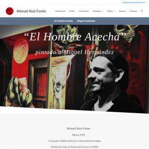 El Hombre Acecha de Miguel Hernández por Manuel Ruiz-Funes