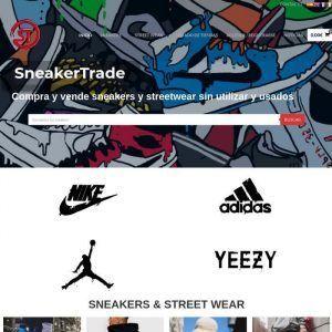 Logo Sneakertrade, tienda online