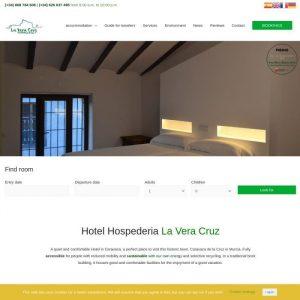 Hotel Web Hostería La Vera Cruz de Caravaca