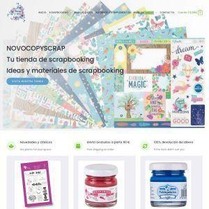 Novocopy Scrap, Tienda online de scrapbooking y manualidades