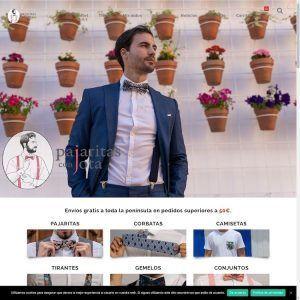 Tienda Online Pajaritas con Jota